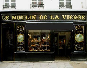 Devanture le moulin de la vierge rue saint dominique - Moulin a cafe boulanger ...